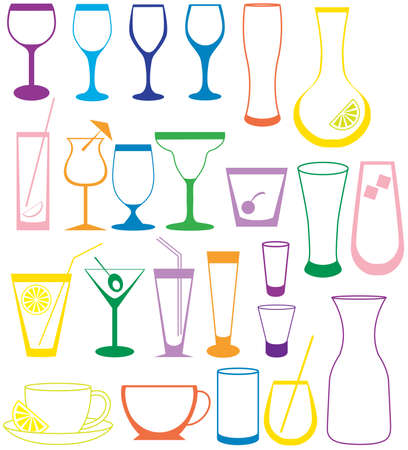 Cocktail Collection Stock Vector - 6099473