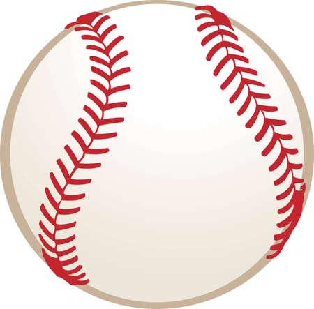 Ilustración de béisbol