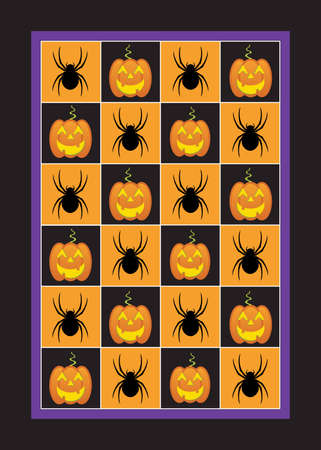 Halloween Decorative Pattern Stock Vector - 6709980