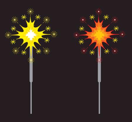 Fireworks or Sparklers