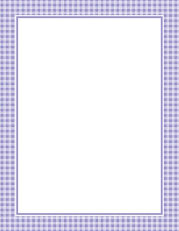 This is an illustration of a purple Gingham Pattern Background.