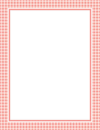 This is a vector illustration of a red Gingham Pattern Background. Vector