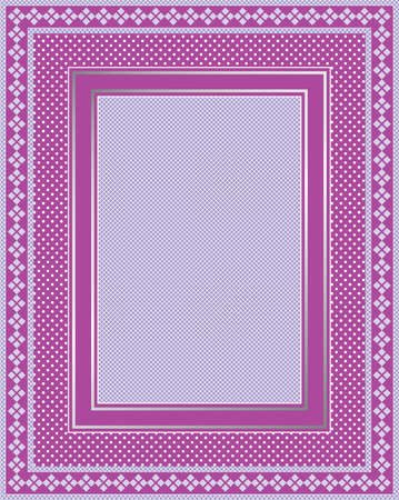 This is a illustration of an elegant lacy purple frame. Great boarder design. Great for stationary and scrapbooking.  Illusztráció