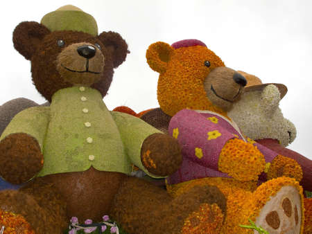 """PASADENA, CA - JANUARY 1: The Rotary Rose Parade Float Committee designed their float """"Building Dreams, Friendships and Memories,"""" to eradicate polio by raising awareness in the 122nd Tournament of Roses Parade on January 1, 2011 in Pasadena, Californ"""