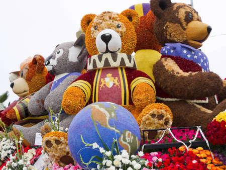 PASADENA, CA - JANUARY 1: Rotary Rose Parade Committee designed