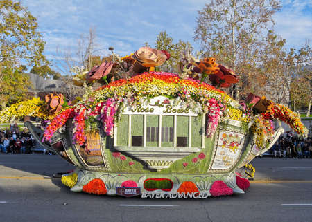 rose bowl parade: Pasadena, California, USA - January 1, 2010: Editorial