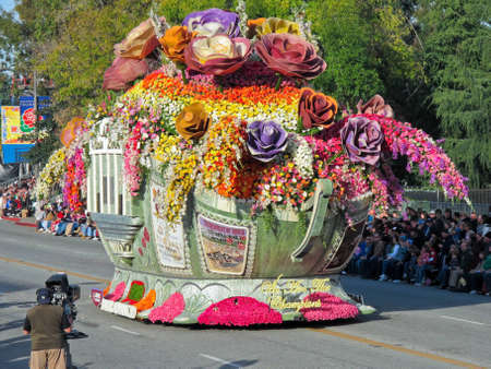 rose bowl parade: Pasadena, California, USA - January 1, 2010 Editorial