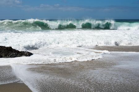Beautiful nature, pure ocean water. Stock Photo