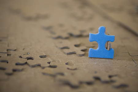1 standing Puzzle Piece