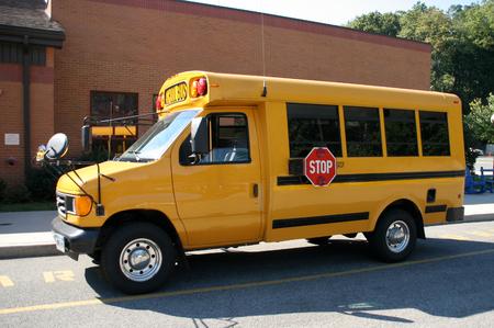 Yellow School Van, Mini Bus