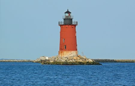 Delaware Lewes Breakwater Lighthouse