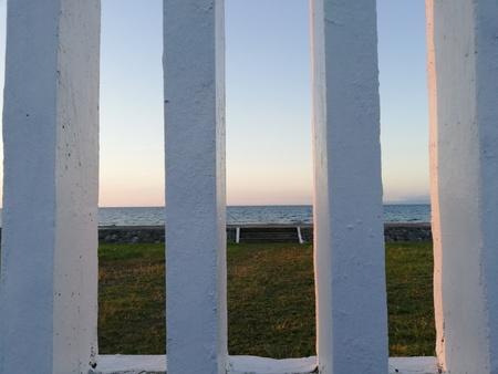 Greece-like ocean view