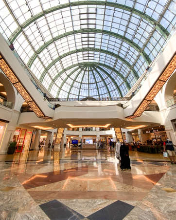 Inside Mall of the Emirates (MOE) in Dubai, United Arab Emirates