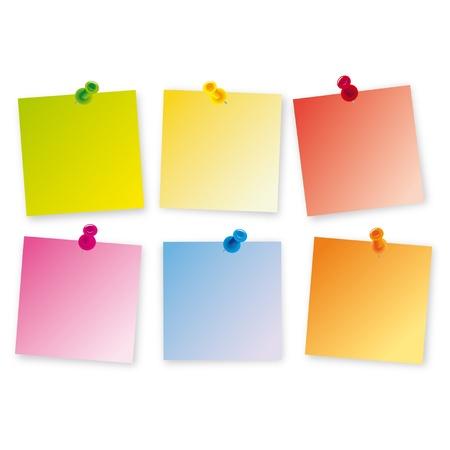 note de service: Post-it bug couleurs