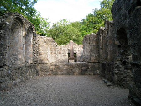 13th: 13th Century Dunstaffnage Castle Chapel Ruins in Western Scotland