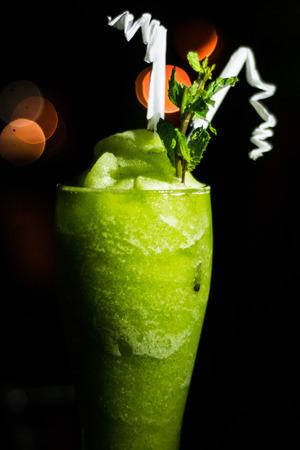 frozen drink: Frozen Mojito Cocktail drink