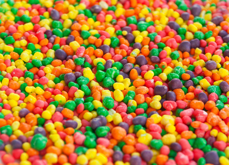 dragee: Multi color sugar dragee candies. Can be used as a background Stock Photo
