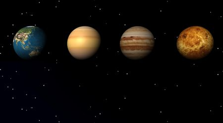 Planets in the studed universe