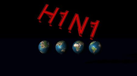 h1n1: H1N1 and world