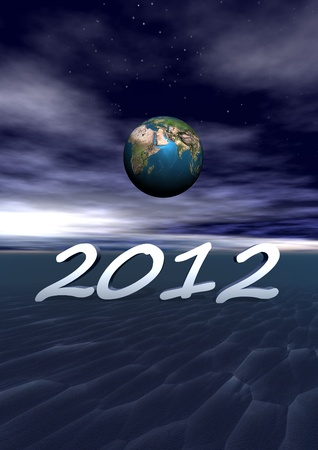 world and 2012 Stock Photo - 11733324