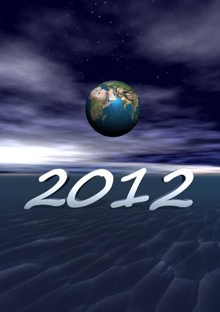 world and 2012 Stock Photo - 11733324
