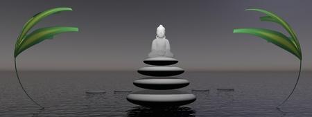 chaplain: buddha and plants