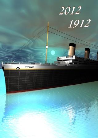 titanic: Titanic 1912 - 2012 et le ciel vert