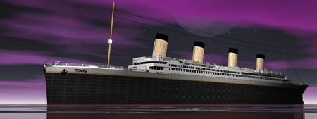 vessel sink: boat and sky purple