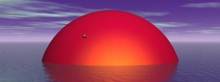 sun and venus and sea photo