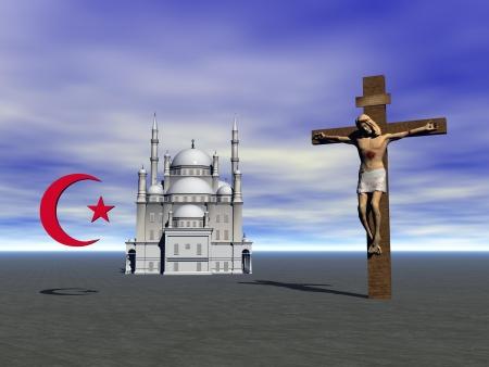 ankh:  religious symbols Stock Photo