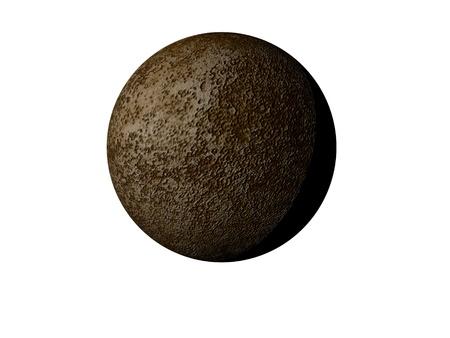 distant spot: planet mercury