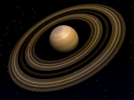 planet saturn Stock Photo - 15892947