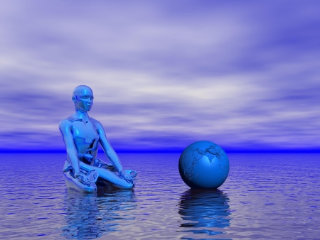 chakra blue photo