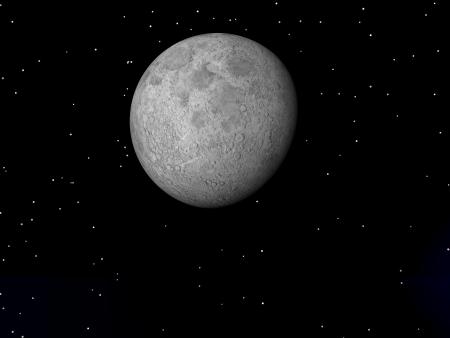 moon and sky black photo