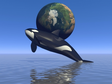 orca and erarth photo
