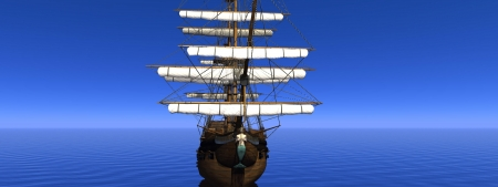 boat merchant and ocean photo