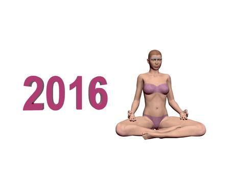 mediation: Happy New Year in yoga and mediation