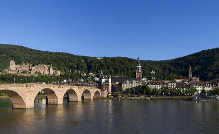 very beautiful Heidelberg city in Germany Banque d'images
