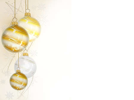 christmas ball on white background - 3d rendering Banque d'images