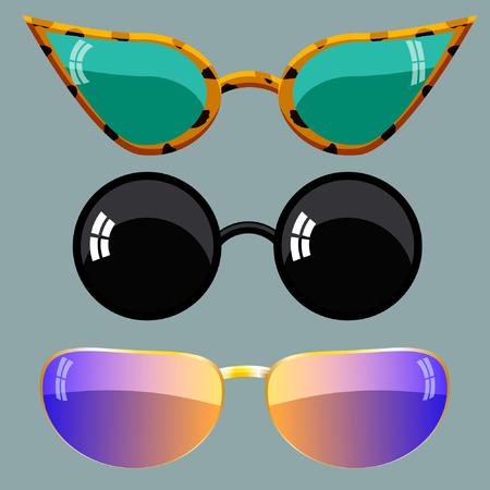 occhiali da sole Vettoriali