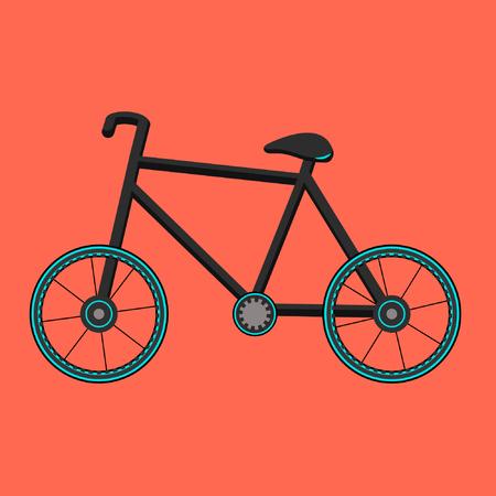 Black stylish bike