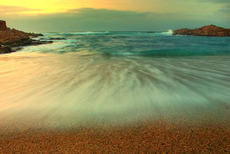 Seascape in South Africa Reklamní fotografie