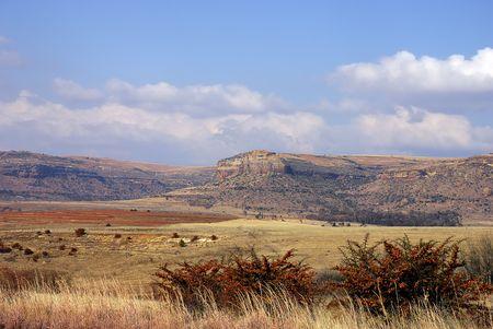 Montagne en Afrique du Sud