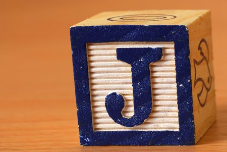 Alphabet block photo