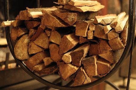 Fire wood Stock Photo - 8253355