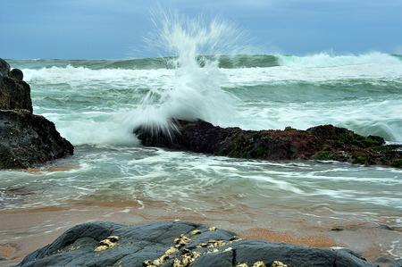 zulu: Seascape taken at Kingsburgh. Kwa Zulu Natal, South Africa.