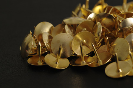 Bronze thumb tacks