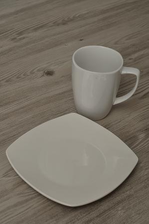 handle bars: Mug and saucer