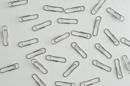 metal fastener: Steel paper clips