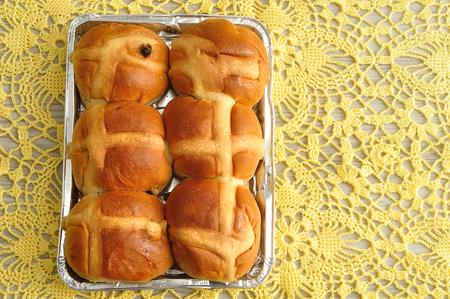 Hot cross buns for easter